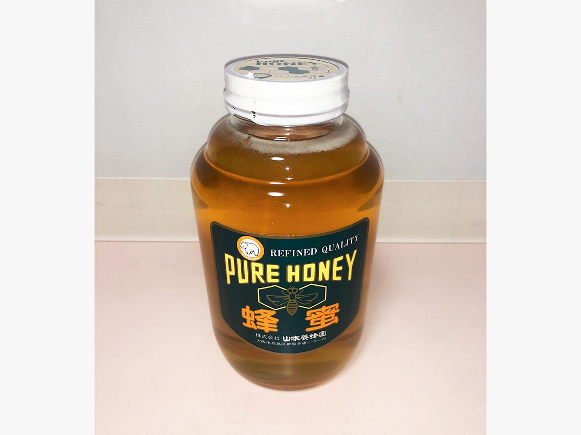 赤レンゲ蜂蜜